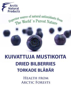 Freeze-dried Bilberries