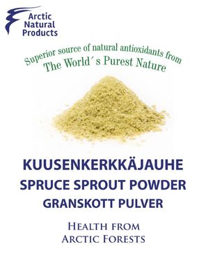 Spruce sprout powder